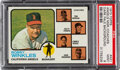 Baseball Cards:Singles (1970-Now), 1973 Topps Angels Manager/Coaches (Dark Pale Background) #...