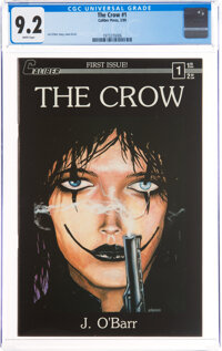 The Crow #1 (Caliber Press, 1989) CGC NM- 9.2 White pages