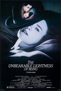 """Movie Posters:Drama, The Unbearable Lightness of Being (Orion, 1988). Rolled, Very Fine-. One Sheet (27"""" X 40"""") SS. Drama.. ..."""
