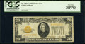 Small Size:Gold Certificates, Fr. 2402* $20 1928 Gold Certificate Star. PCGS Very Fine 2...