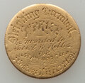 Carnival Gold Medal. Planed and engraved on both sides. First prize at the Concord, New Hampshire, Sleighing Carnival, a...