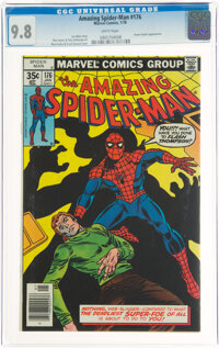 The Amazing Spider-Man #176 (Marvel, 1978) CGC NM/MT 9.8 White pages