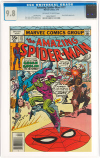The Amazing Spider-Man #177 (Marvel, 1978) CGC NM/MT 9.8 Off-white to white pages
