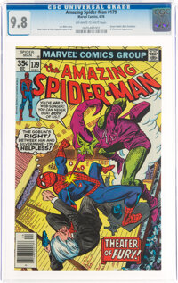 The Amazing Spider-Man #179 (Marvel, 1978) CGC NM/MT 9.8 Off-white to white pages