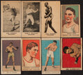Boxing Cards:General, 1921-1927 Boxing Strip Cards Collection (32). ...