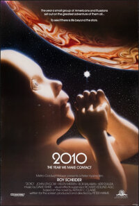 """2010 & Other Lot (MGM/UA, 1984). Rolled, Overall: Very Fine-. One Sheets (2) (27"""" X 41""""). Science Fiction..."""