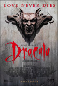 """Movie Posters:Horror, Bram Stoker's Dracula (Columbia, 1992). Rolled, Very Fine+. One Sheet (26.75"""" X 39.75"""") SS Advance. Horror.. ..."""