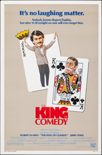 """The King of Comedy (20th Century Fox, 1983). Rolled, Very Fine. One Sheet (27"""" X 41""""). Comedy"""