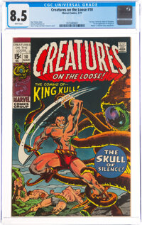 Creatures on the Loose #10 (Marvel, 1971) CGC VF+ 8.5 White pages