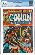 Bronze Age (1970-1979):Superhero, Conan the Barbarian #23 (Marvel, 1973) CGC VF+ 8.5 Off-white pages....