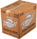 Baseball Cards:Unopened Packs/Display Boxes, 1987 Donruss Baseball Case With 20 Wax Boxes. ...