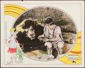 """Movie Posters:Comedy, Three Ages (Metro, 1923). Very Fine. Lobby Card (11"""" X 14""""). Comedy.. ..."""