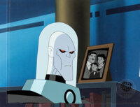The New Batman Adventures Mr. Freeze Production Cel and Key Master Background (Warner Brothers, c. 1997-99)