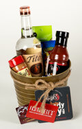 Movie/TV Memorabilia:Autographs and Signed Items, Bloody Mary Gift Basket...