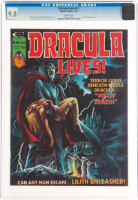 Dracula Lives! #11 (Marvel, 1975) CGC NM/MT 9.8 White pages