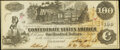 Confederate Notes:1862 Issues, T39 $100 1862 About Uncirculated.. ...