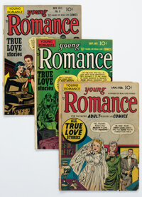 Young Romance Comics Group of 62 (Prize, 1948-62) Condition: Average GD/VG.... (Total: 62 Comic Books)