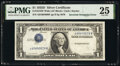 Error Notes:Inverted Third Printings, Inverted Third Printing Error Fr. 1613W $1 1935D Wide Silv...