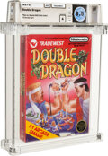 Video Games:Nintendo, Double Dragon - Wata 8.5 A Sealed [Rev-A, Round SOQ, First Production], NES Tradewest 1988 USA....