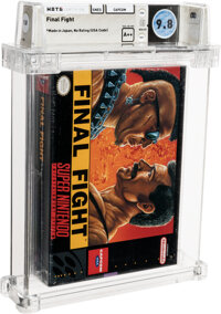 Final Fight - Wata 9.8 A++ Sealed [Made in Japan], SNES Capcom 1991 USA