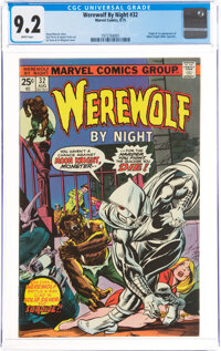 Werewolf by Night #32 (Marvel, 1975) CGC NM- 9.2 White pages