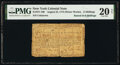 Colonial Notes:New York, New York August 25, 1774 (Water Works) 2s (Raised to 8s) PMG Very Fine 20 Net.. ...
