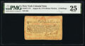 Colonial Notes:New York, New York August 25, 1774 (Water Works) 8s PMG Very Fine 25.. ...