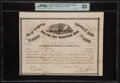 Confederate Notes:Group Lots, Ball 295 Cr. 141I $5,000 1864 Four Per Cent Registered Bond PMG Very Fine 25.. ...
