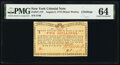 Colonial Notes:New York, New York August 2, 1775 (Water Works) 2s PMG Choice Uncirculated 64.. ...