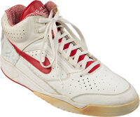 1991 Scottie Pippen Game Worn & Signed Right Sneaker