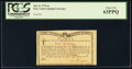 Colonial Notes:New York, New York January 6, 1776 (Water Works) 4s PCGS Choice New 63PPQ.. ...