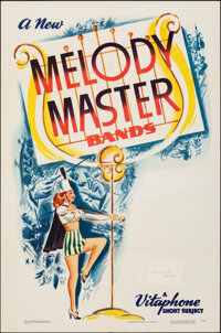 """Melody Master Bands (Warner Bros., 1948). Folded, Very Fine-. One Sheet (27"""" X 41"""") """"Junior Jive Bombers..."""