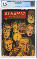 Dynamic Comics #8 (Chesler, 1944) CGC FR/GD 1.5 Cream to off-white pages
