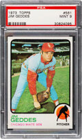 Baseball Cards:Singles (1970-Now), 1973 Topps Jim Geddes #561 PSA Mint 9 - Only One Higher!
