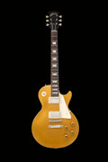 Musical Instruments:Electric Guitars, 1957 Gibson Les Paul Goldtop Solid Body Electric Guitar, S...