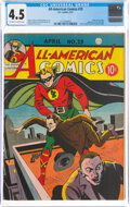 Golden Age (1938-1955):Superhero, All-American Comics #25 (DC, 1941) CGC VG+ 4.5 Off-white to white pages....