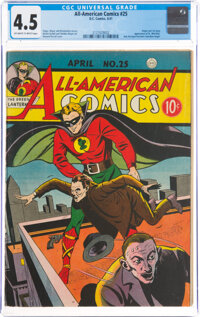 All-American Comics #25 (DC, 1941) CGC VG+ 4.5 Off-white to white pages