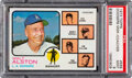 Baseball Cards:Singles (1970-Now), 1973 Topps Dodgers Manager/Coaches #569 PSA Mint 9 - None ...