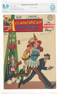 All-American Comics #93 (DC, 1948) CBCS VF 8.0 Off-white to white pages