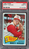 Baseball Cards:Singles (1960-1969), 1965 Topps Marty Keough #263 PSA Mint 9 - None Higher!