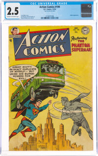Action Comics #199 (DC, 1954) CGC GD+ 2.5 Cream to off-white pages