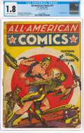 Golden Age (1938-1955):Superhero, All-American Comics #11 (DC, 1940) CGC GD- 1.8 Cream to off-white pages....
