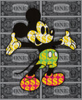 Prints & Multiples, Ben Allen (b. 1979). Monster Mickey 3D, 2021. 3D cut giclee in colors on Archival paper. 28 x 24 inches (71.1 x 61 cm) (...