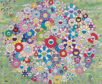 Takashi Murakami (b. 1962) Korpokkur in the Forest, 2020 Offset lithograph in colors on smooth wove