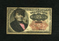"Fractional Currency:Fifth Issue, Fr. 1308 25c Fifth Issue Very Good. This is a ""Satirical Note""where a hat, pipe, sideburns, a red nose and shirt have been ..."