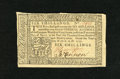 Colonial Notes:Pennsylvania, Pennsylvania April 10, 1777 6s Extremely Fine. We've only had thisdenomination from this issue twice before....