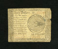 Colonial Notes:Continental Congress Issues, Continental Currency September 26, 1778 $60 Very Good-Fine. Theright edge has an approximate quarter inch tear....