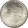 1878 7/8TF $1 Weak MS66 PCGS. VAM-33. In reality, there are four tail feathers that protrude slightly from beneath the s...