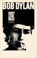 """Movie Posters:Rock and Roll, Don't Look Back (Leacock-Pennebaker, 1967). Very Fine-. Window Card (14"""" X 22""""). Rock and Roll. . ..."""