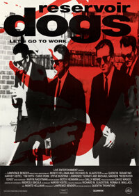 """Reservoir Dogs (Miramax, 1992). Fine- on Board. Autographed Poster (39"""" X 54"""")"""